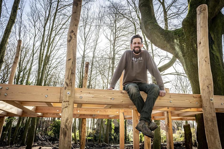 Bomen doen dromen (1): de boomhutten van Wouter