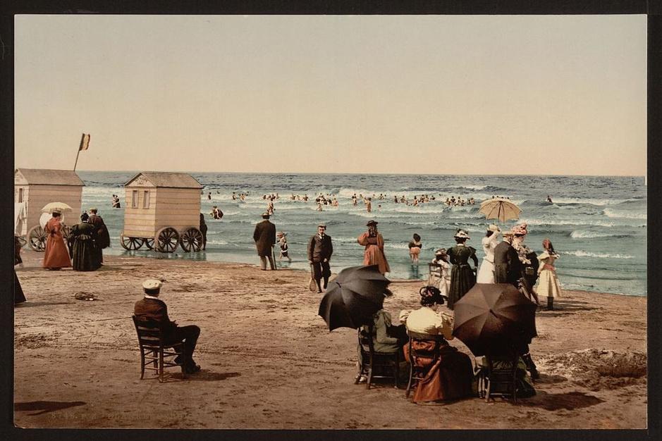 Zo zag België er in 1890 uit
