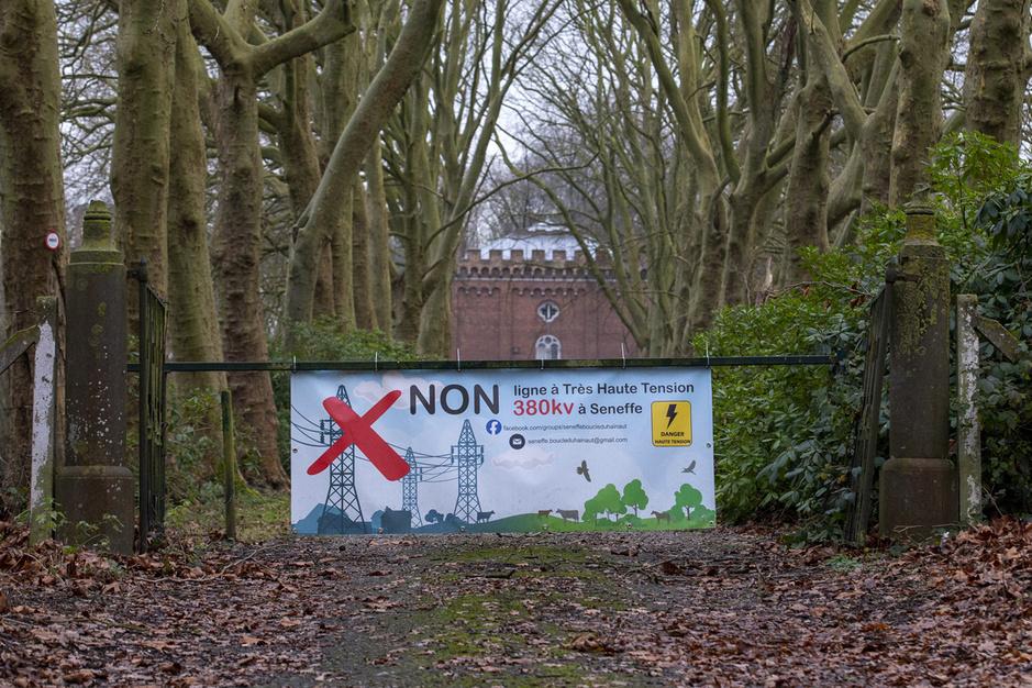 Verzet tegen hoogspanningslijn in Henegouwen: 'Waarom moeten wij opdraaien voor de Duitsers?'