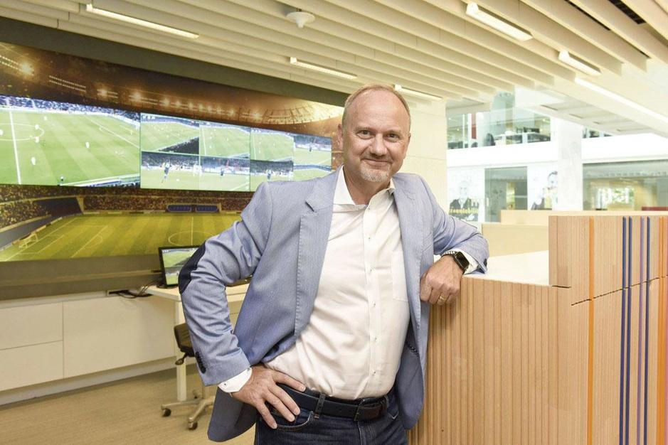 Sport op tv dankzij EVS, CEO Serge van Herck: 'Zonder onze software of servers zou het scherm zwart zijn'