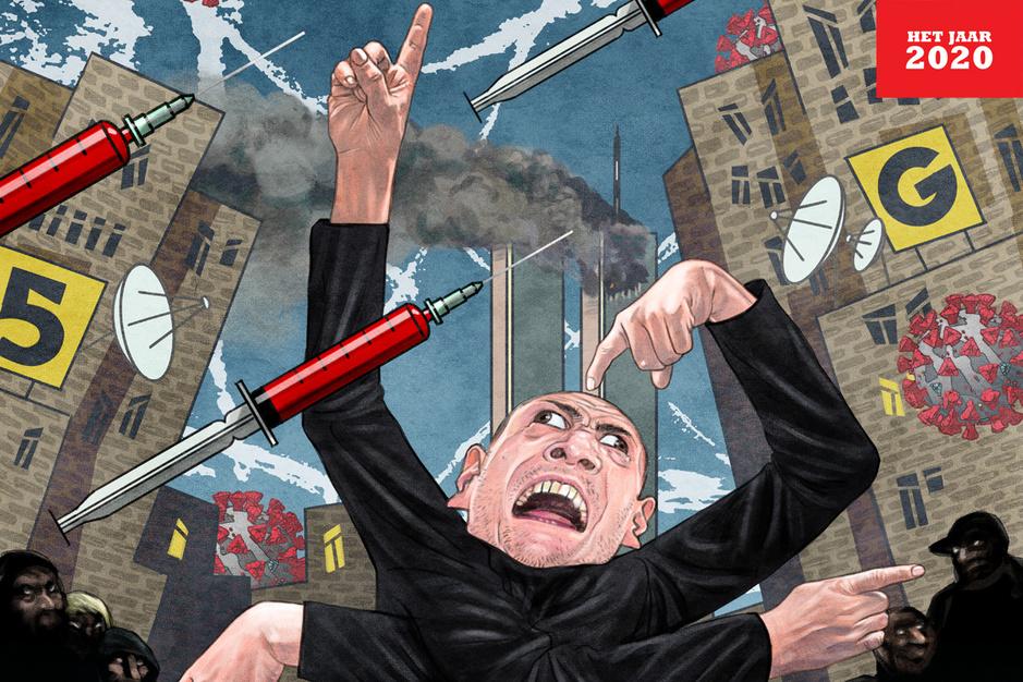 Van Qanon tot Siegfried Bracke: 2020 was een vruchtbare bodem voor complottheorieën
