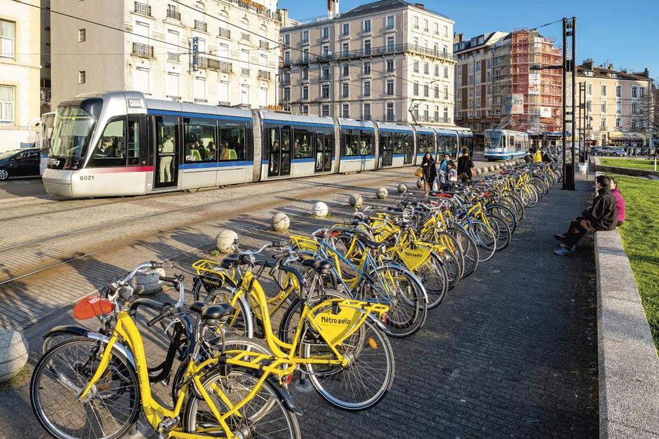 Groen Grenoble: biologisch eten, schone energie én een fietssnelweg