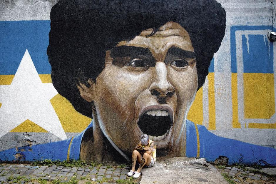 Afscheid van Maradona: het onvatbare Pluisje