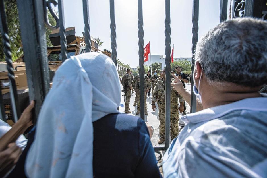 Leider islamistische Ennahda-partij: 'Tunesiërs zullen nooit een dictator aanvaarden'
