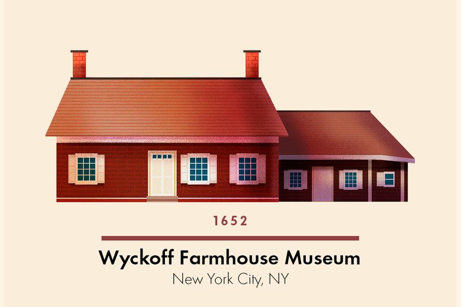 Dit zijn de oudste gebouwen in de honderd grootste Amerikaanse steden
