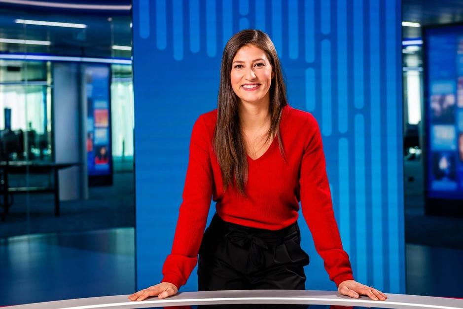 """Lies Vandenberghe debuteert als sportanker op VTM: """"Stress? Alleen omdat ik mezelf moet schminken"""""""