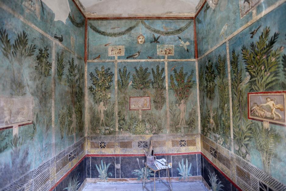 In beeld: drie prachtige Romeinse villa's in Pompeii geopend voor het publiek