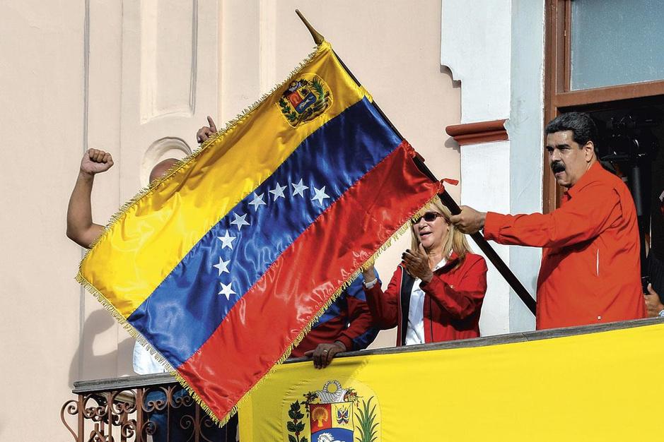 President Maduro botst met het Westen: 'Venezuela is een gevaar voor de wereld'