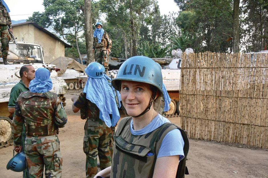 Politologe Séverine Autesserre neemt VN-vredesmissies op de hak: 'Je krijg juist méér geweld'