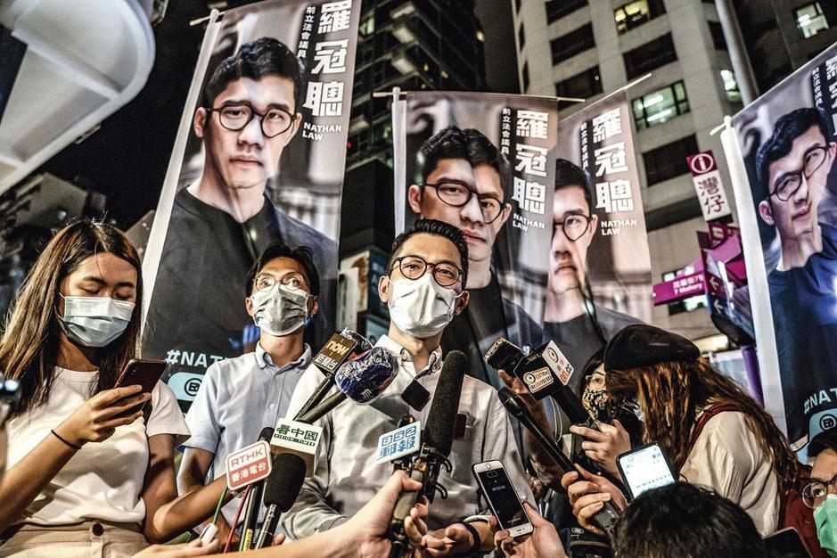 Hongkongse activist Nathan Law: 'Ik zal de laatste stem zijn die tot zwijgen wordt gebracht'