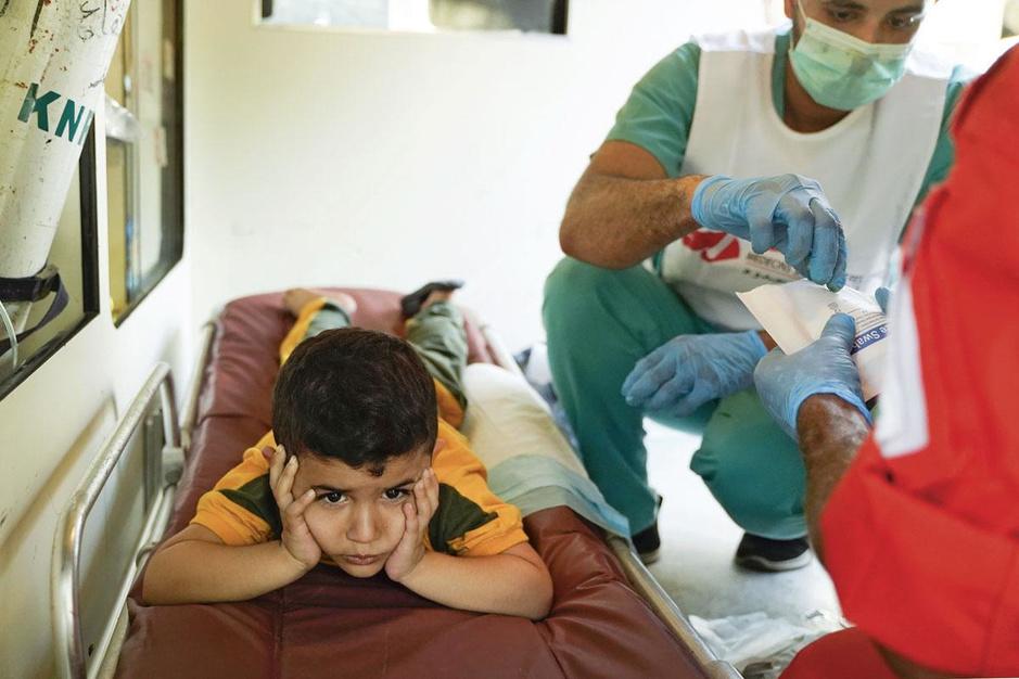 Internationale noodhulp botst op antiwitwasregels