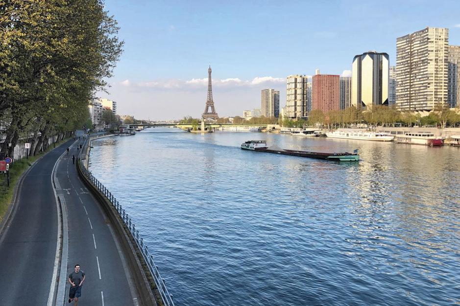 Quarantainewandeling in Parijs: blijven rondjes lopen