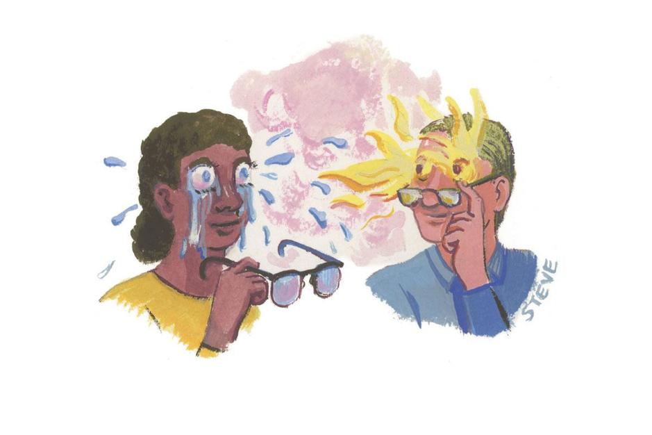 Factcheck: nee, niet 40 procent van alle Belgen ziet onscherp of heeft geïrriteerde ogen