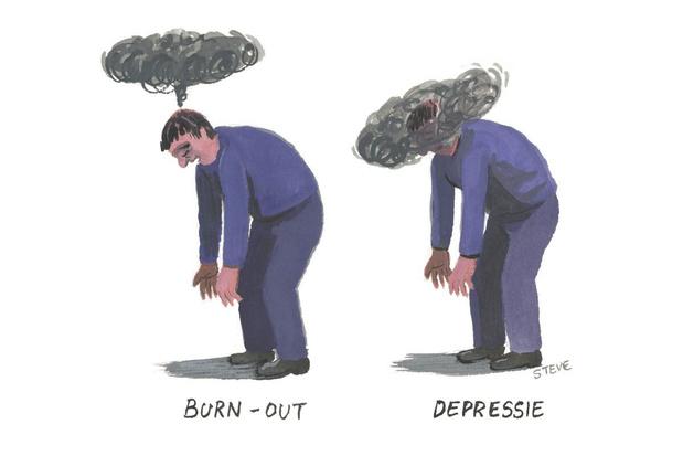 Factcheck: nee, de remedies voor burn-out en depressie verschillen niet zo heel veel van elkaar