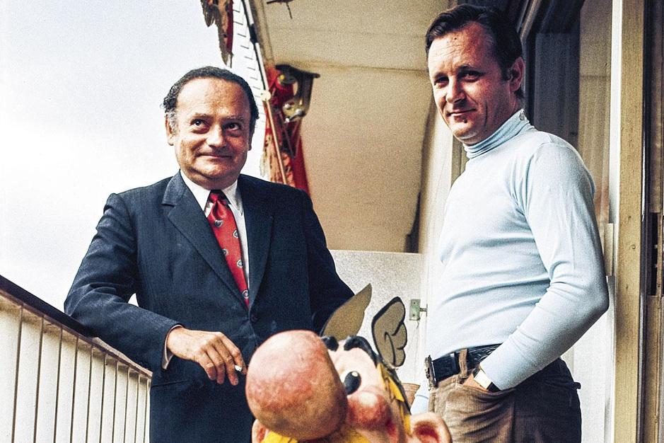 Walter Pauli neemt afscheid van Asterix-tekenaar Albert Uderzo: de man van de menhirs