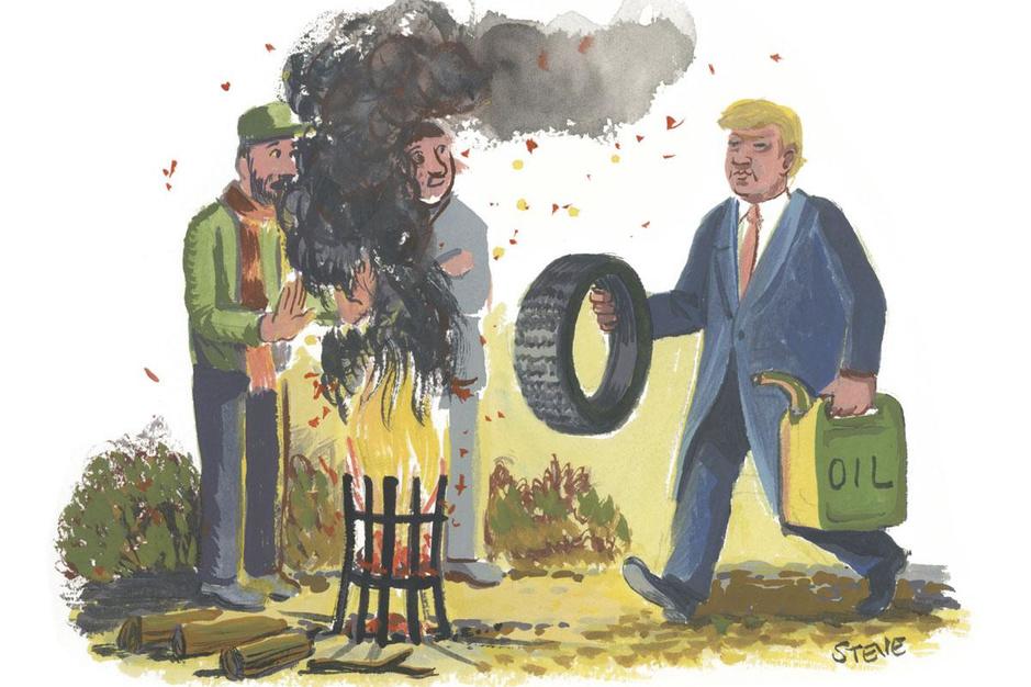 Factcheck: ja, een vuurkorf produceert op vier uur evenveel fijnstof als autorit Brussel-Moskou en terug