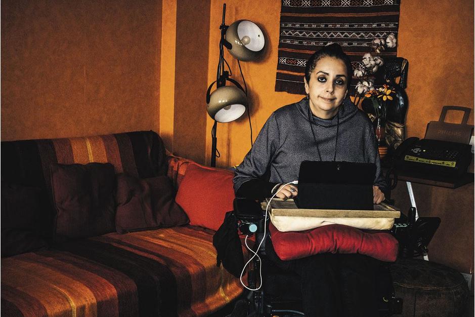 Nadia Hadad, ingenieur en filosoof: 'Nog liever thuis wegkwijnen dan naar een instelling te moeten'