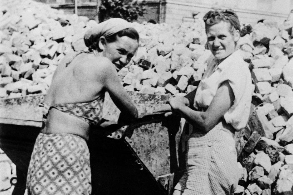 Als een koffietafel na een begrafenis: zo was het leven in Duitsland na WOII