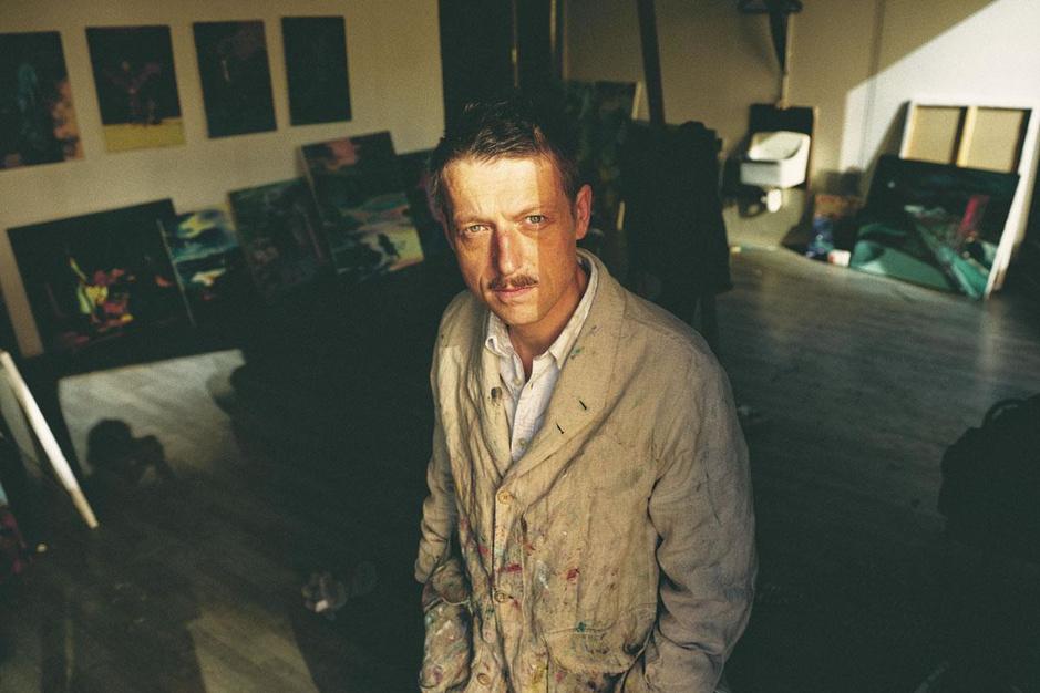 Bent Van Looy, terug naar zijn oudste liefde: 'Ik kibbel met mijn schilderijen'