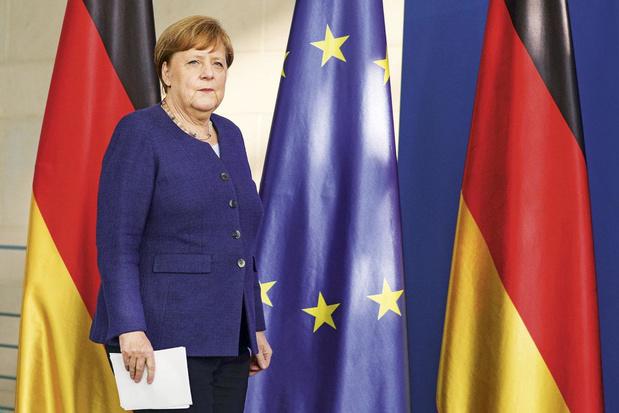 Duits leiderschap stelt de EU gerust: 'Merkel gold als een baken van stabiliteit'