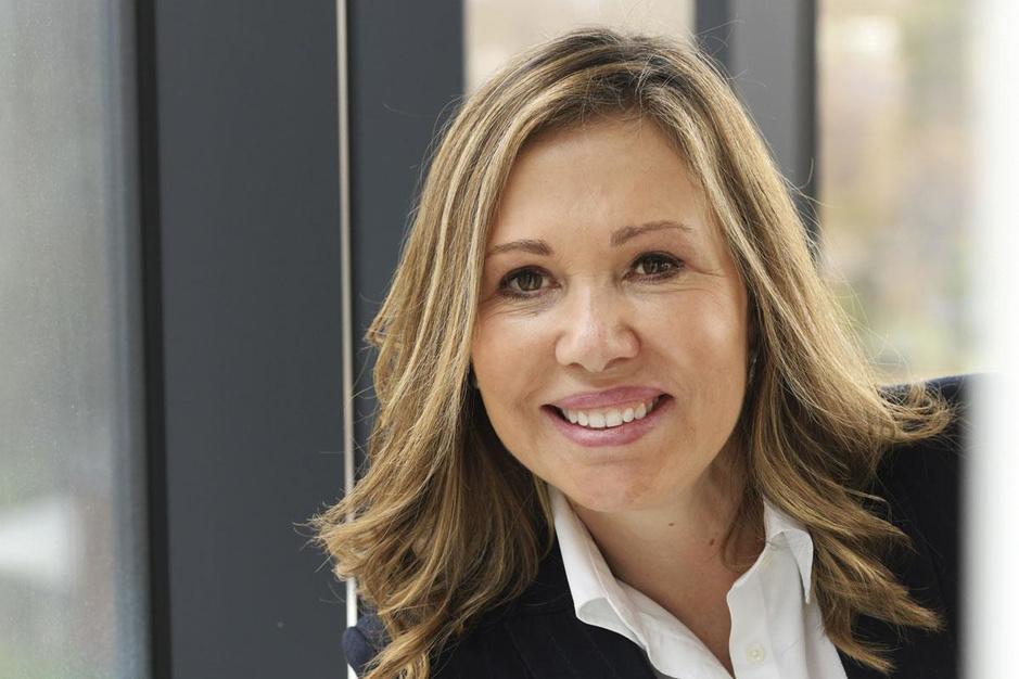CEO Esther Berrozpe Galindo: 'Ontex staat niet dicht bij het bankroet'
