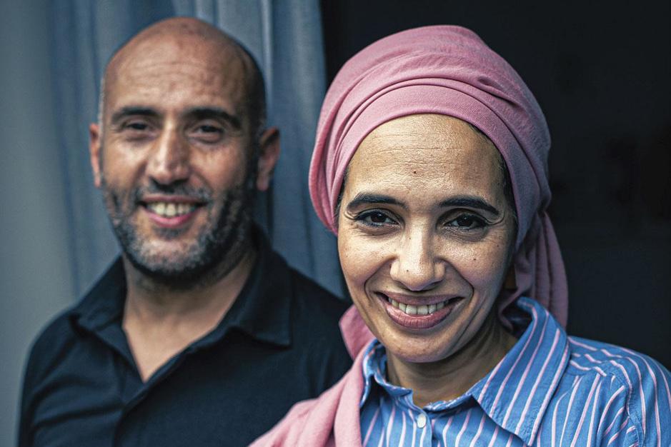 Rashid en Cherifa uit 'Blind gekocht': 'Uiteindelijk bleken we toch meer Belg dan Marokkaan'