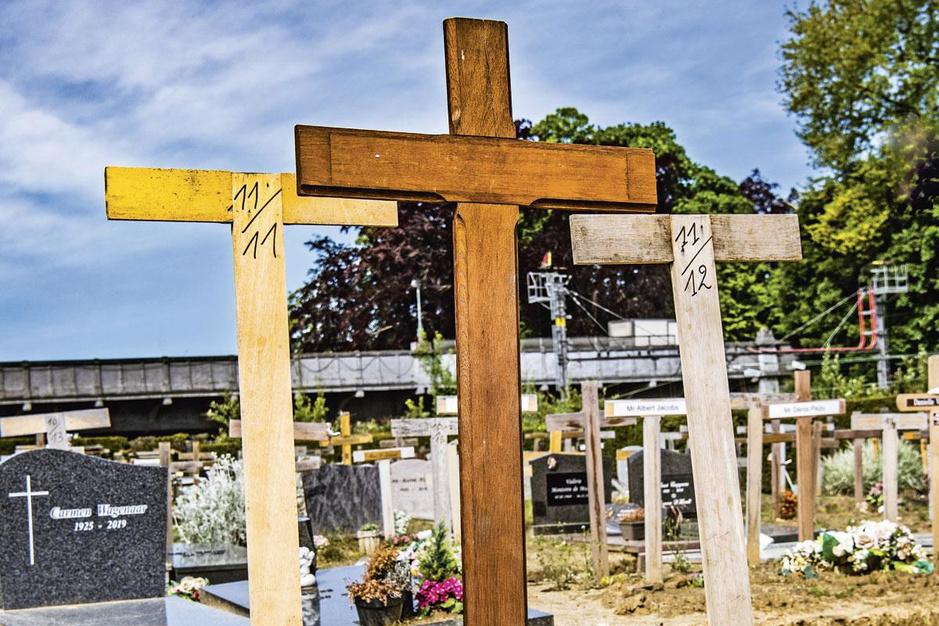 Intussen op de begraafplaatsen in België: de onbekende soldaat van 2020