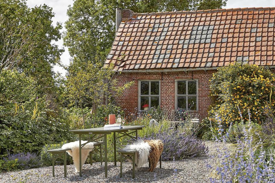 Het kleine huis in de polders: 'Ik was helemaal klaar voor een grote, groene uitdaging'