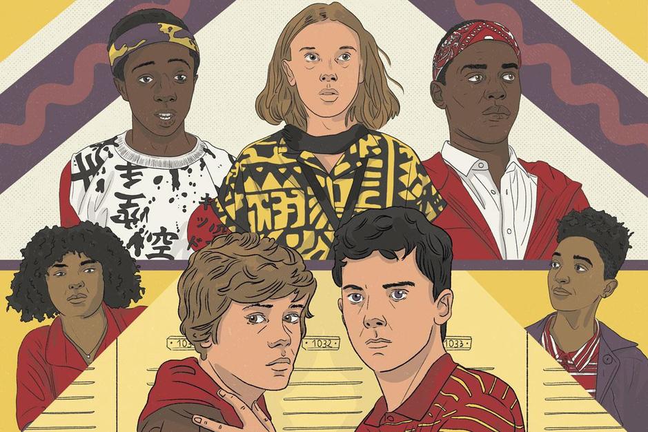 Waarom u geen volwassen man wilt zijn in een tienerreeks op Netflix