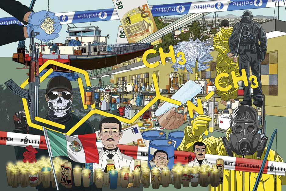 Onderwereldmakelaars zijn de link tussen Mexicaanse kartels en de Lage Landen