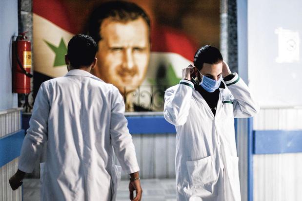 Corona-epidemie heeft vrij spel in door oorlog geteisterde Syrië