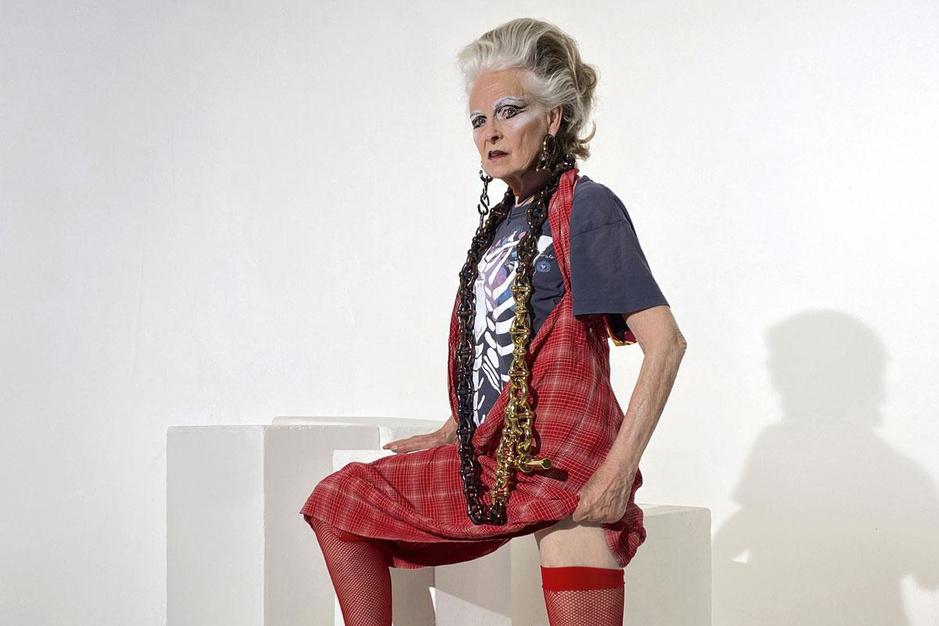 Modeontwerper Vivienne Westwood wordt 80: 'Ik heb geen probleem met ouder worden'