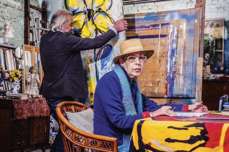 Weduwe van Jos Laureys opent nieuwe kunstgalerie: 'Ik ben als een feniks uit mijn as herrezen'