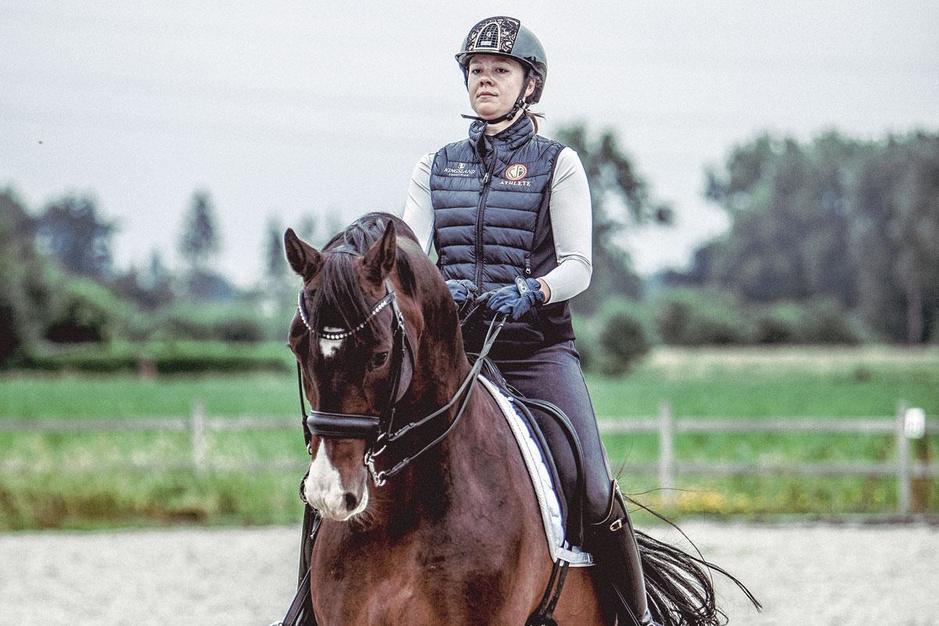 De olympische droom van Laurence Roos en haar paard Fil Rouge: 'Wij scheiden nooit'