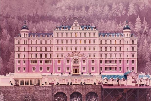 Overnacht in The Grand Budapest Hotel, de nummer één op de lijst van filmploegen en celebrity's