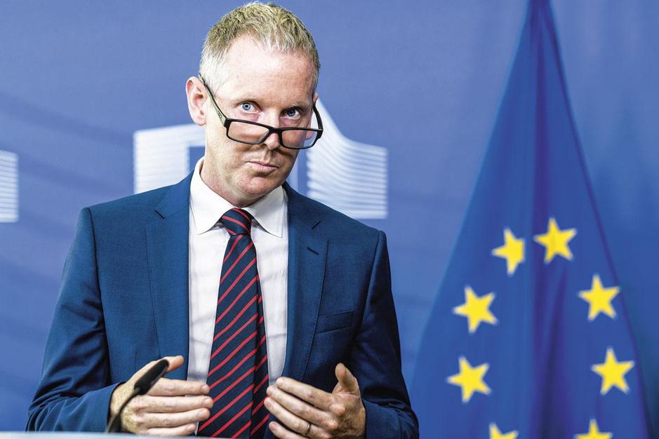 Andrew McDowell, vicepresident EIB: 'We zullen vier of vijf jaar nodig hebben om te herstellen'
