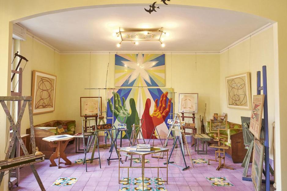 Balla Ciao: de flat van Giacomo Balla is een 3D-kunstwerk