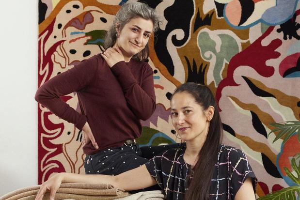 Tapijt van Eden: Antwerps tapijtenhuis Ashtari Carpets werkt samen met Parijse illustrator