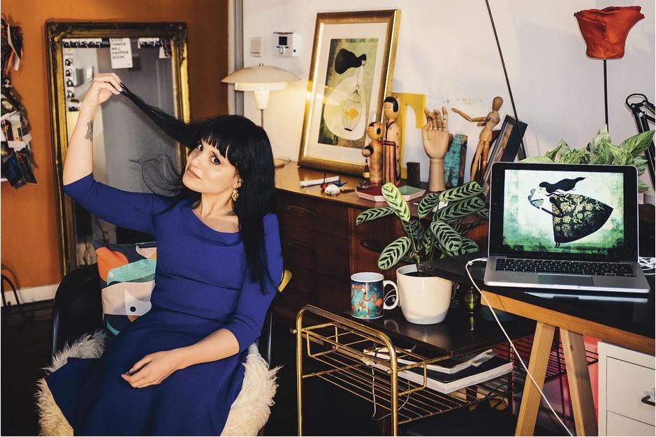 Illustratrice Fatinha Ramos: 'Ik heb stilte nodig om te tekenen. Innerlijke stilte'