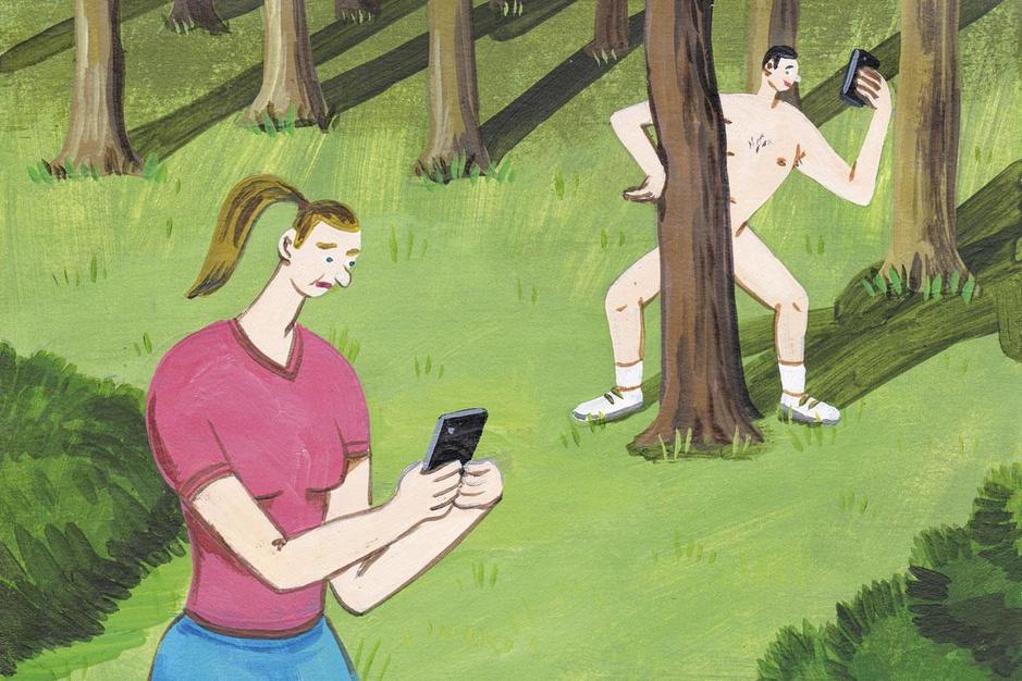 Waarom mannen dickpics sturen