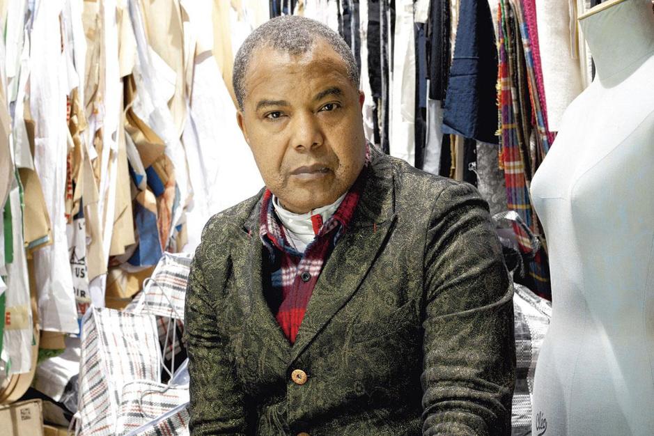 Lamine Kouyaté, modeontwerper en upcyclingpionier: 'De jonge generatie spreekt mijn taal'