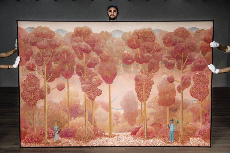 Kunstschilder Ben Sledsens start op 29e aan derde solotentoonstelling: 'Ik was fan van Gust Flater'