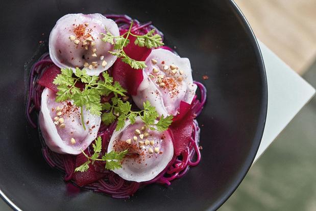 Crystal veggie dumplings met glutenvrije wraps
