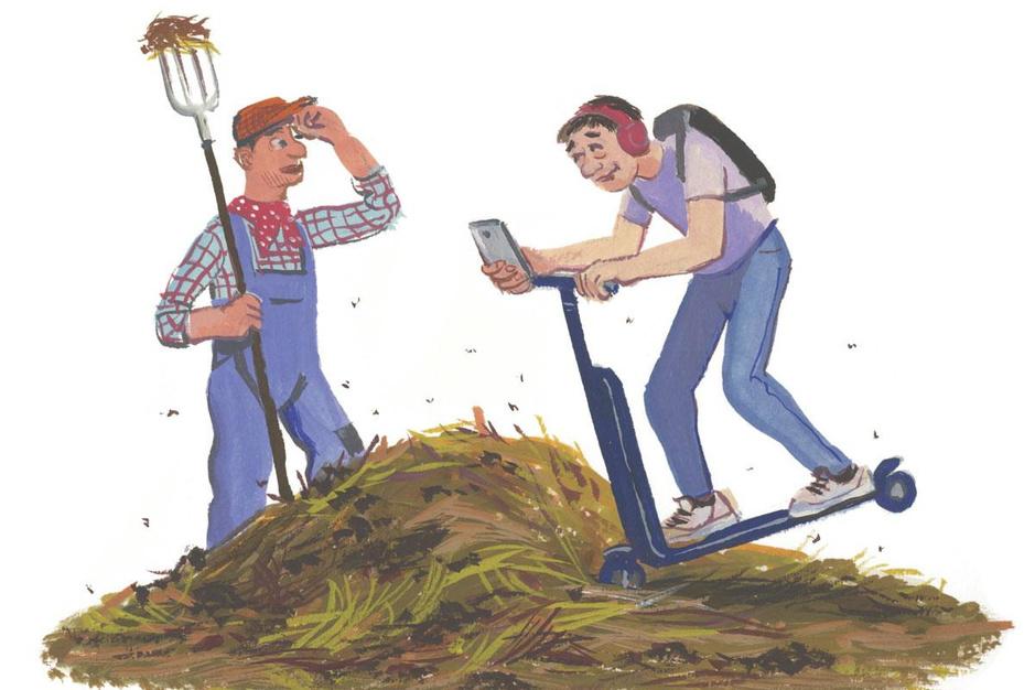 Factcheck: ja, opgroeien op het platteland kan leiden tot beter navigatievermogen