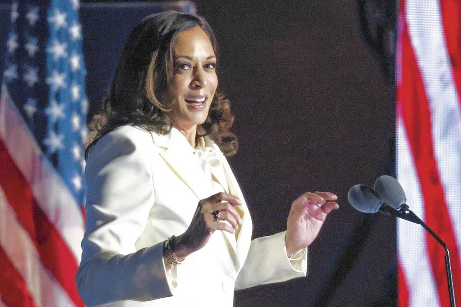 De beslissende stem: vicepresident Kamala Harris wordt cruciaal in de Senaat