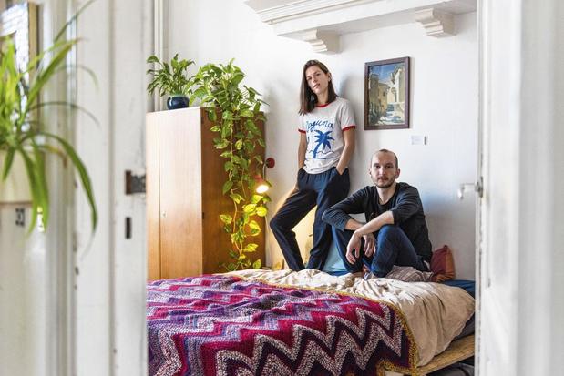 Tussen de lakens bij Silke en Hannes: 'Naast de stress delen we ook de voldoening'