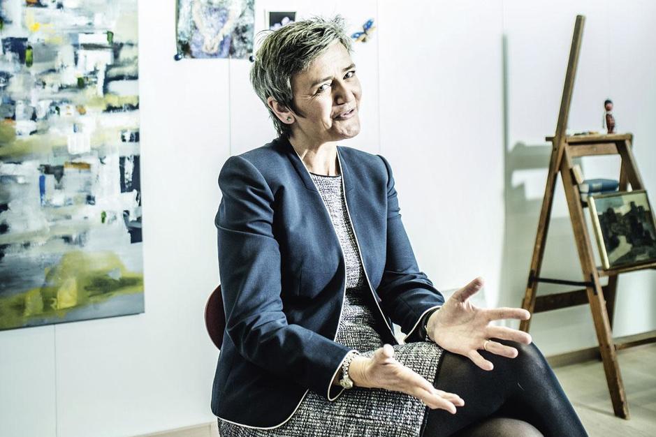 Margrethe Vestager: 'Voorraden van mondmaskers aanleggen kan beter op Europees niveau'
