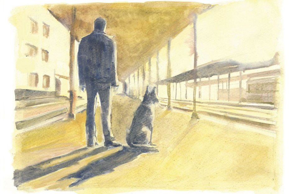 Voorpublicatie van 'Ronin en de betekenis van alles': een literair treinverhaal