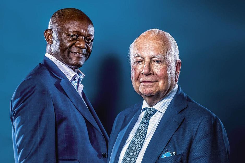 Pierre Kompany en Mark Eyskens: 'De toekomst van België ligt opnieuw in Congo'