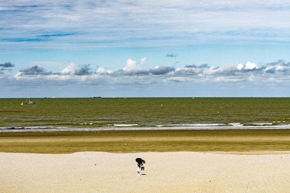Groeten uit Oostende: het strand waar niemand ligt